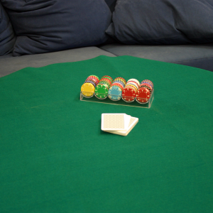 Spel/Pokerduk 180x90 cm