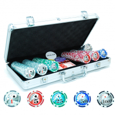Pokerset Silver 300 Low Stakes